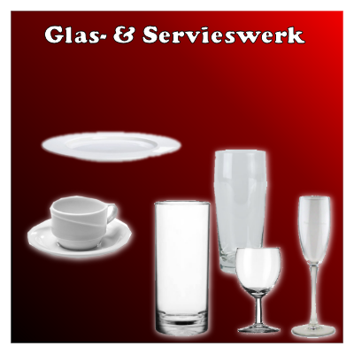 glaswerk en servies